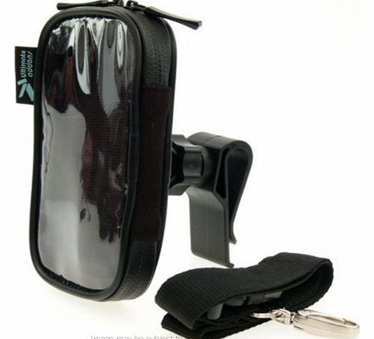 Golf Bag Clip Mount & Waterproof Case for the Callaway uPro Golf GPS System
