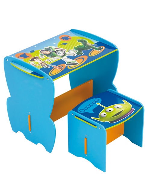 Toy Story Stool : Buzz lightyear toy story my first desk and stool