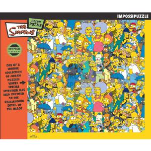 simpsons puzzle