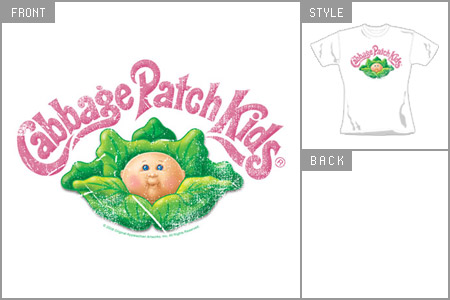 cabbage patch kids logo skinny fit t shirt   review