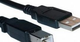 CABINK 3m USB 2.0 High Speed Printer Cable for HP Photosmart 5520, 6520, 7520 e-all-in-one