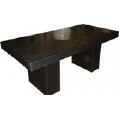 Harwoodlarge extending dining tabletablesdining room for Large black dining room table