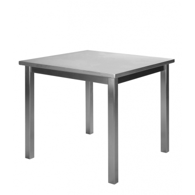 Parry ltab00700 stainless steel table 700mm deep rangeltab00700 white kitchen table - Steel kitchen tables ...