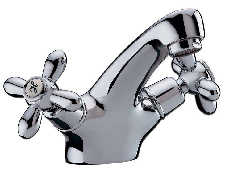 Cross Handle Basin Mixer