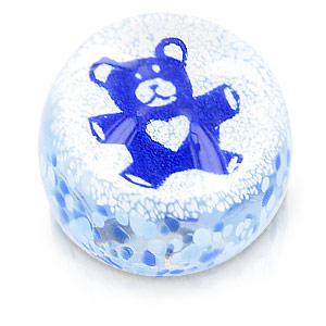 Precious Moments Blue Teddy Bear Paper - CLICK FOR MORE INFORMATION