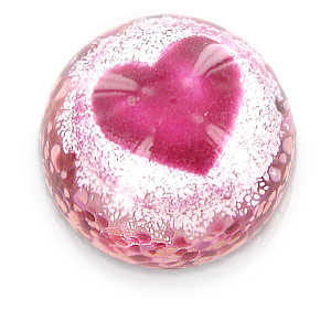 Precious Moments Ruby Heart Paper Weight - CLICK FOR MORE INFORMATION