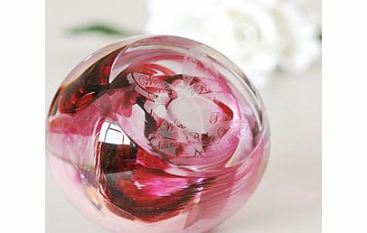 Ruby Wedding Anniversary Paperweight - CLICK FOR MORE INFORMATION