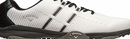 Callaway Chev Mulligan M189-12, Mens Golf Shoes, Blanco / Blanco, 11 UK