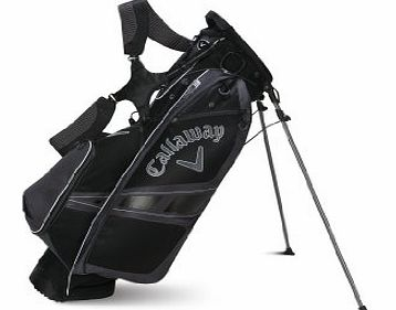 Golf 2014 Hyper-Lite 3 Carry Stand Bag - Black/Charcoal