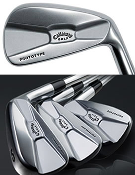 Golf Prototype Irons Tour Authentic