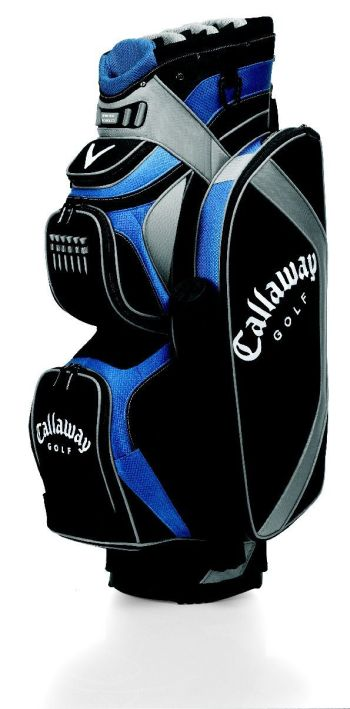 ORG 14 STADIUM TROLLEY CART GOLF BAG Black