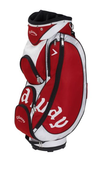 STRIKE CART WOMENS TROLLEY GOLF BAG Red/White