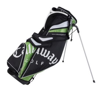 STRIKE LIGHT STAND CARRY GOLF BAG Black/Green