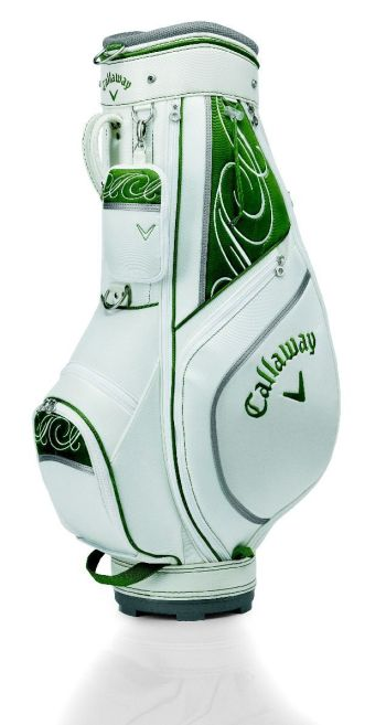 WOMENS SIVAN TROLLEY CART GOLF BAG White/Moss