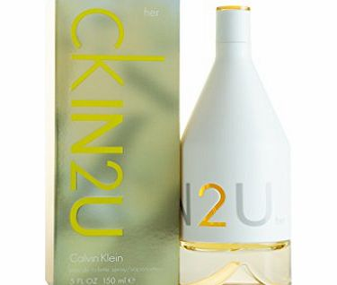 Calvin Klein CKIN2U For Her Eau de Toilette Spray - 150 ml