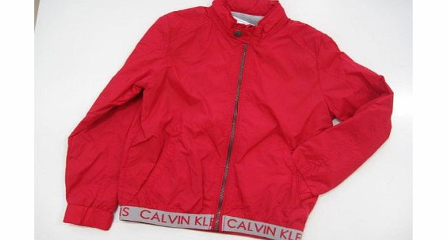 Calvin Klein Jeans Boys Vibrant Red Jacket (10 Years)