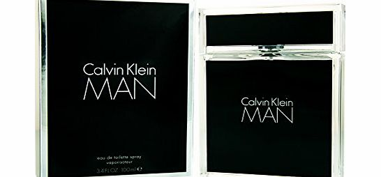 Calvin Klein Man Eau de Toilette Spray - 100 ml