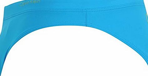 Calvin Klein Mens Hipster Briefs Swimming Beach Holiday Swimwear Trunks Comfort Blue XL