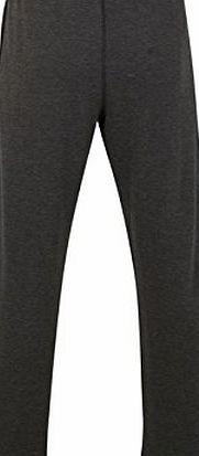 Calvin Klein Mens Towel Open Trousers Towelling Interior Relaxed Fit Pants Dark Grey L
