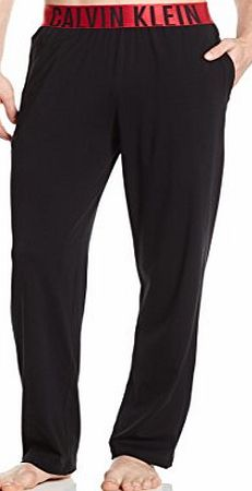 Calvin Klein Stretch Lounge Pants with Red Logo Waistband (Large)