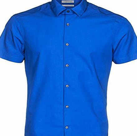 Calvin Klein Waver fitted shirt Blue L