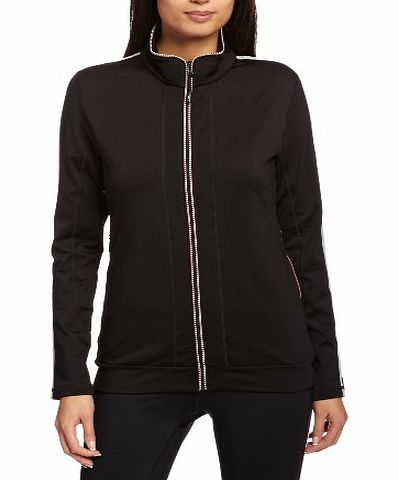 Calvin Klein Womens Performance Tech Pullover - Black, Large