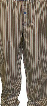 Calvin Klein Woven Heritage Stripe Pyjama Bottoms, Multi Size: Large