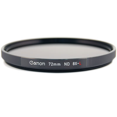 Canon 72mm ND8L Neutral Density x8 Filter