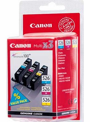 canon cli 526 ink cartridge multi pack review compare. Black Bedroom Furniture Sets. Home Design Ideas