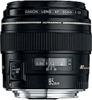 Canon EF85mm f/1.8 USM compatible with Filter