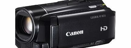 Canon Legria HF M56 Full HD Camcorder (10x Optical Zoom, Professional CMOS sensor, Optical IS, WiFi, 8GB)