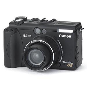 canon powershot g5 camera digital camera review, compare