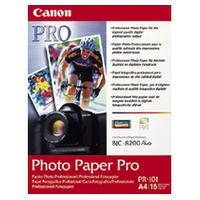 Canon PR-101 Photo Paper Pro A4 - (15 Sheets) product image