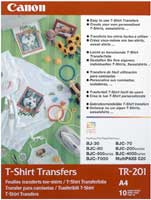 Canon TR-301 T-Shirt Transfers A4 - (10 Sheets) product image