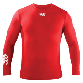 Canterbury  Base Layer Cold LS T-Shirt Red product image