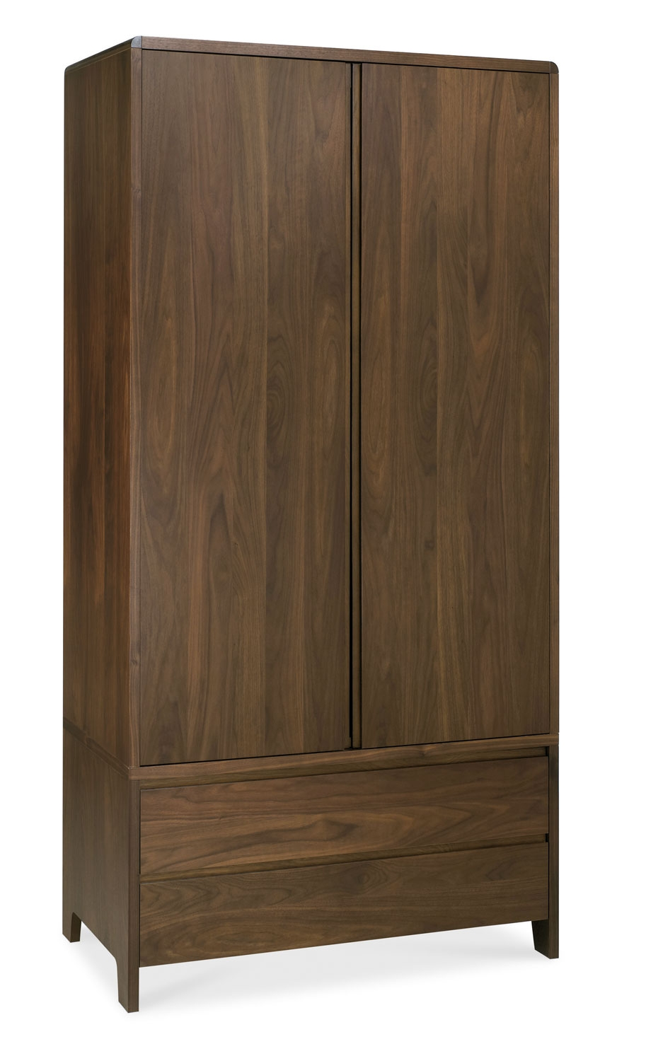 Capri walnut double wardrobe review compare prices buy for American walnut bedroom furniture uk