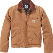 Carhartt, 1228[^]8607H Detroit Jacket Duck Brown Large 54``