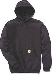 Carhartt, 1228[^]1476F K121 Hoodie Black Large Chest 1476F