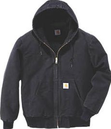 Carhartt, 1228[^]1252F Sandstone Active Quilted Jacket Black