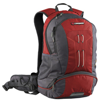 Caribee Trail Hiking Day Rucksack (red)