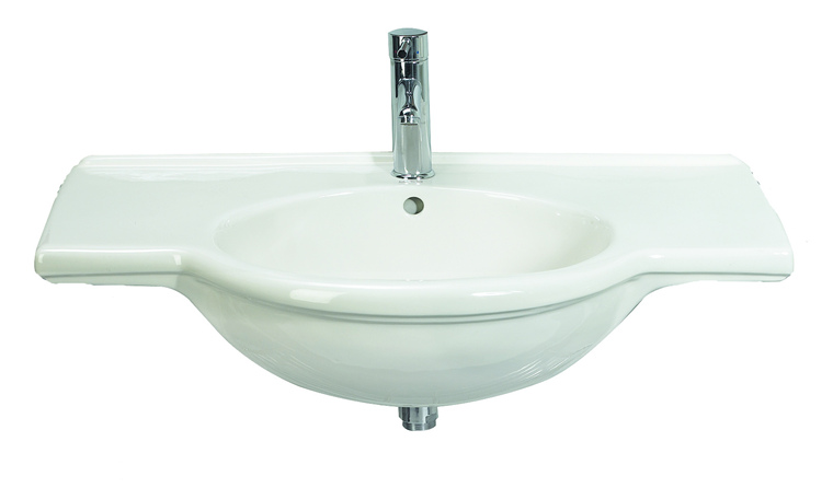 The classic styling of this basin with symetrical ledges will fit seamlessly into most bathroom sett - CLICK FOR MORE INFORMATION