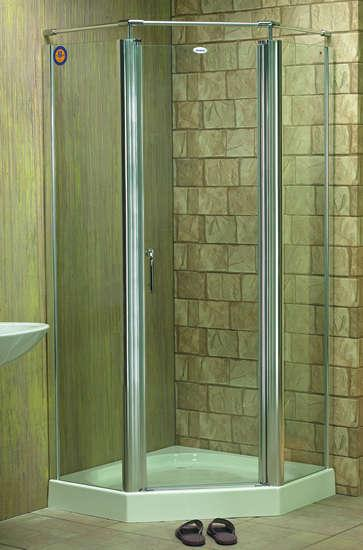 Space saving bathroom suite from very budget bathrooms bathroom space - Corner Shower Corner Bathtub Shower Basics