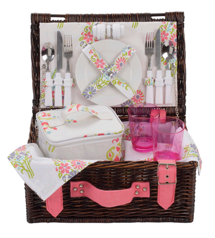 Carnival Romany Picnic Basket - 2 Person product image