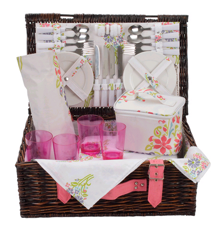 Carnival Romany Picnic Basket - 4 Person product image