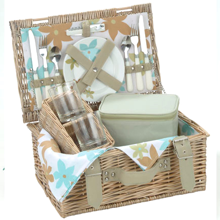 Carnival Summer Flower Picnic Basket product image