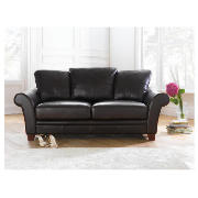 Carolina leather sofa large, chocolate product image