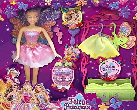 Carousel Fairy Princess Dress Up Play Doll Figure Playset ~ Colour Varies
