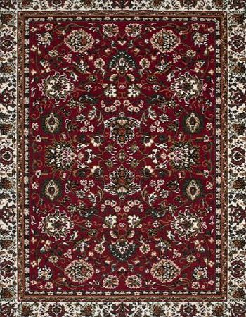 CARPET WORLD SONA-LUX Traditional rug red ``9 sizes availlable`` 160 x 230 cm (5ft2``x7ft5``) product image