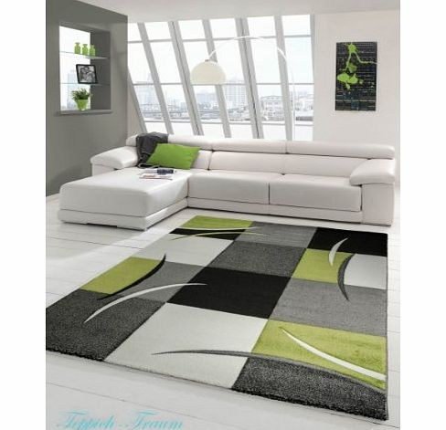 carpetcity Modern Diva Rug Hand-Finished Black / Cream / Green 160x230 product image