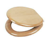Carrara and Matta Veneered Wood Toilet Seats Beech